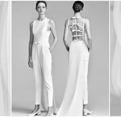 f8d1abd0f6 50 abiti da sposa scollati sulla schiena: apoteosi della sensualità