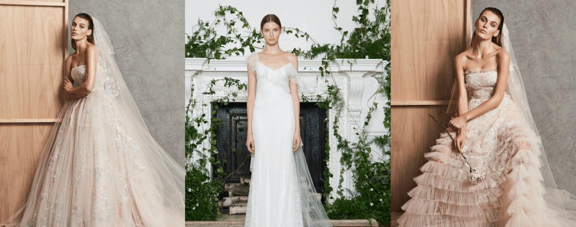 El romanticismo cobra vida con estos vestidos de novia: ¡Tienes que verlos!