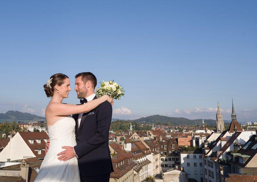 """""""Ja, ich will!"""" - Heiraten über den Dächern von Bern"""