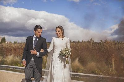 Un día para sonreír: la boda de Cristina y Luis
