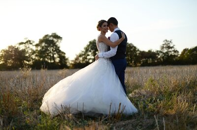 Julie + Vivien : un doux et charmant mariage dans le Midi