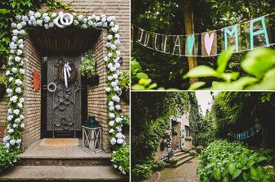 Hochzeitsplanung, Brautstyling, Ja-Wort - so lief die traumhafte Hochzeit von Julia und Malte ab!