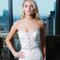 Trendiges und  glamouröses Brautkleid mit Sexappeal