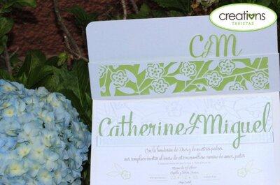 Invitaciones y detalles para tu boda de la mano de creations TARJETAS