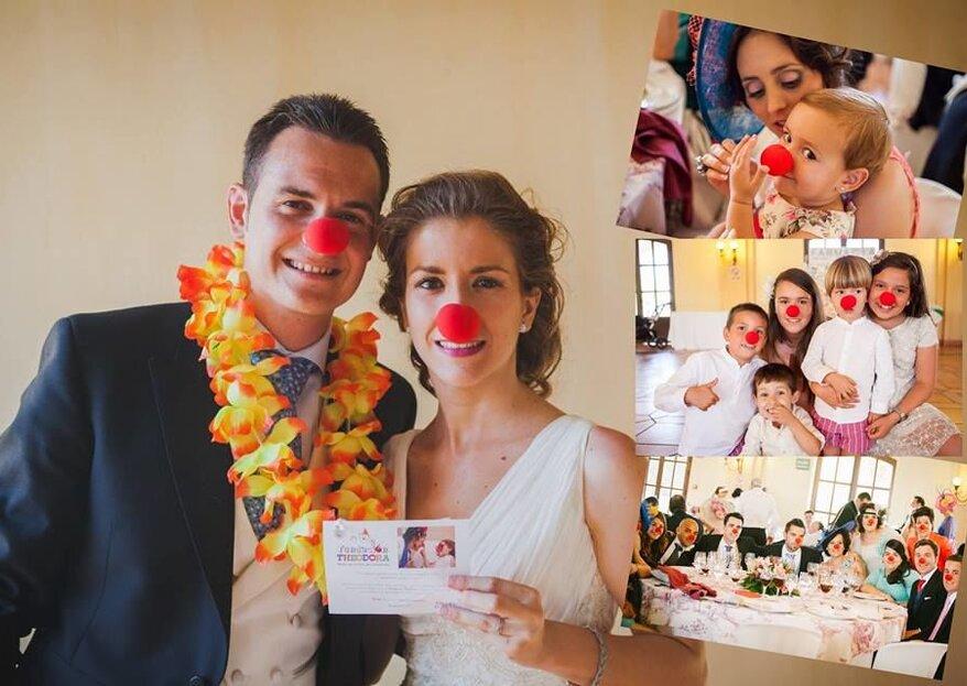 Fundación Theodora, un vehículo de ilusión para niños hospitalizados a través de detalles solidarios de boda