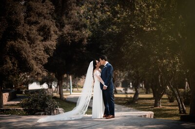 Nahil y Aldo: Una pareja que vuela en los brazos del amor