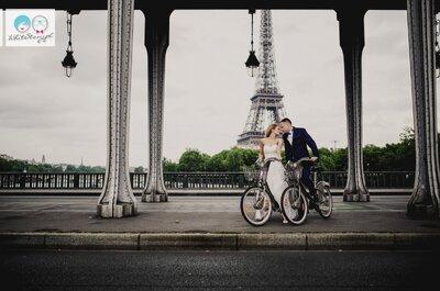 Sesja ślubna pod dachami Paryża! Sprawdź!