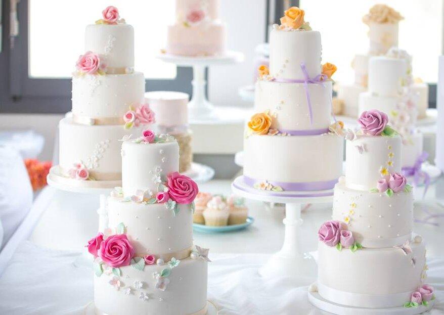 Wie man die richtige Grösse für die Hochzeitstorte berechnet - Tipps vom Profi