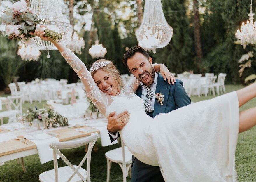 Cómo amenizar el cóctel de la boda con 10 ideas de lo más divertidas