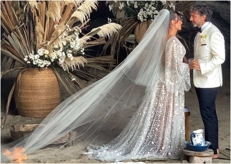 ¡Paradisíaca! Así fue la boda de la actriz Marcela Mar en Cartagena