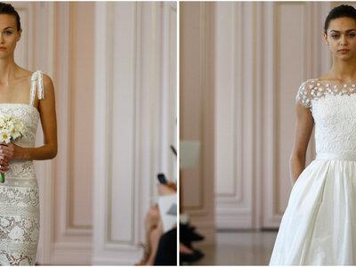 Óscar de la Renta 2016: ¡luce un vestido de novia muy romántico!