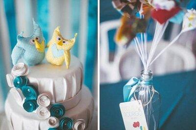 Cores vibrantes e combinações perfeitas para sua mesa de doces do casamento
