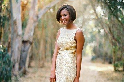 Suknie ślubne z dodatkiem złota i srebra. Musisz to zobaczyć!