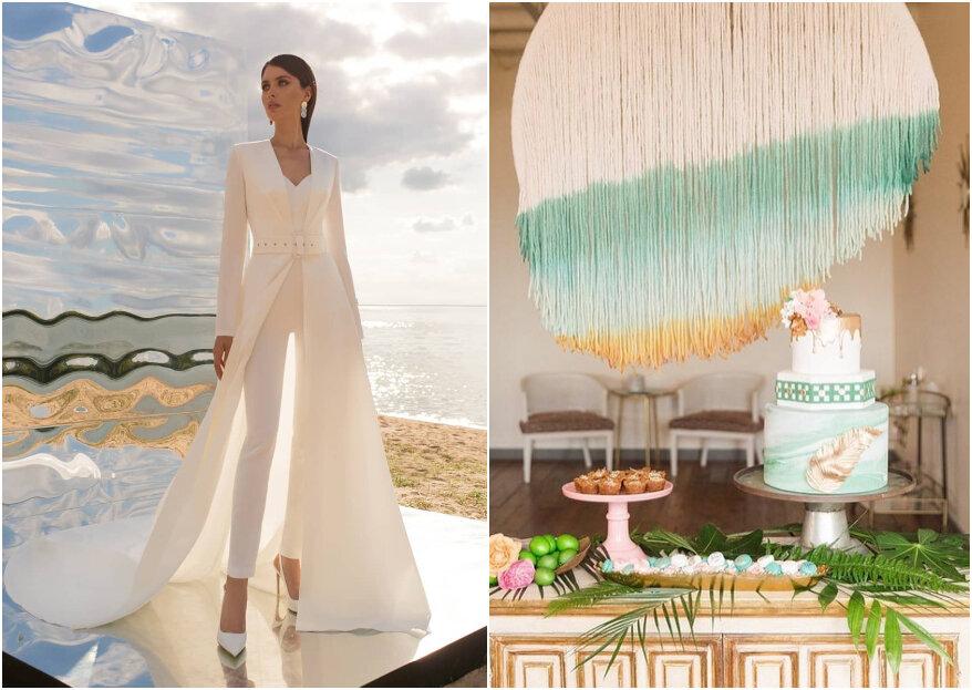 Tendencias para matrimonio 2020/2021: ¡estilos e ideas para tu gran día!
