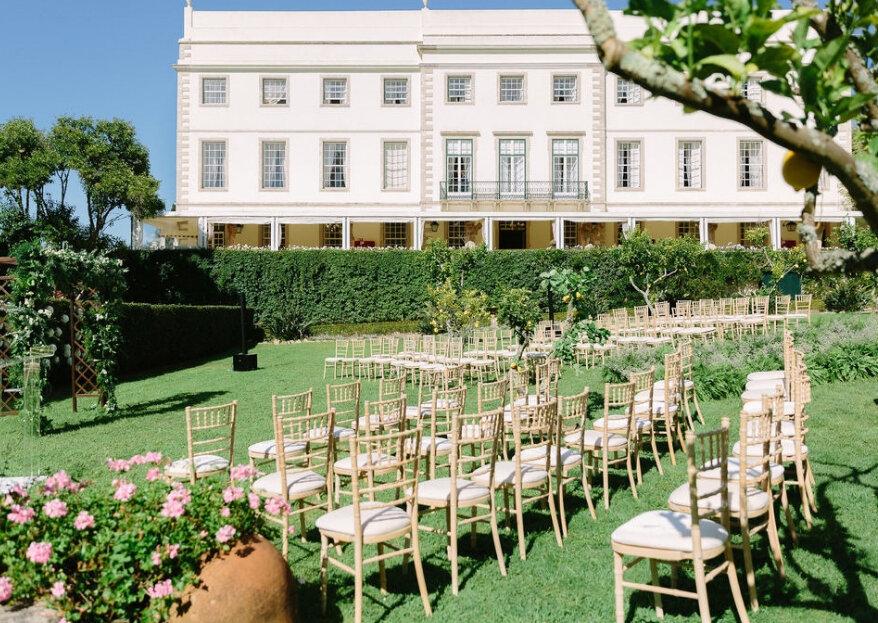 Luxo & Glamour: as máximas para um casamento clássico de sucesso - venha conhecer os espaços ideais!