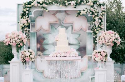 Эксклюзивные свадебные торты : делаем выбор в пользу оригинальности!