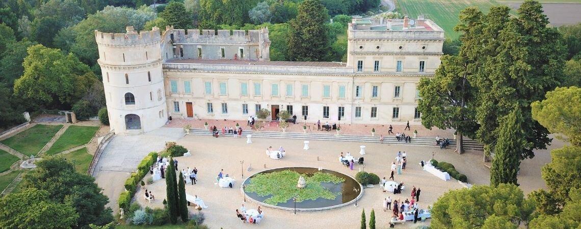 Château de Barbegal : un lieu unique pour un événement unique