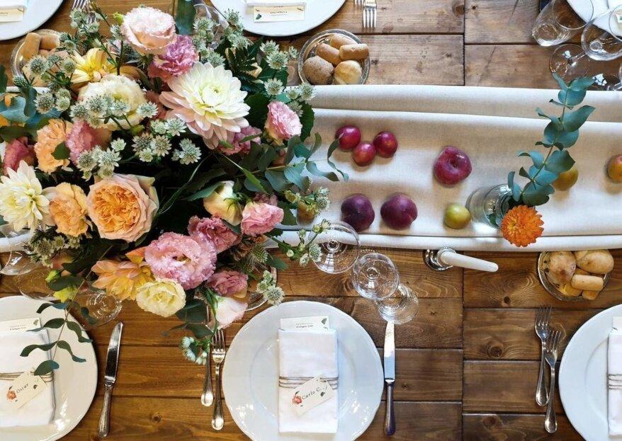 Non solo fiori per le tue nozze, sperimenta con le decorazioni