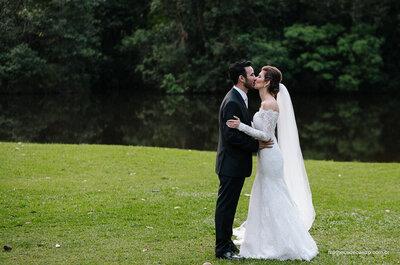 Mariana e Marcelo: casamento ao ar livre 100% inspirador em São Paulo!