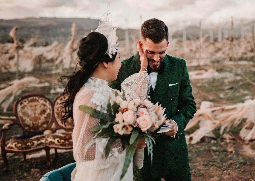 AMOR con mayúsculas: la boda de Otilia y Álvaro