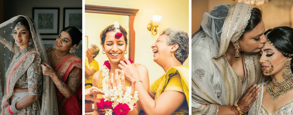 20 Best Mother-Daughter Moments For Wedding Picture Inspiration