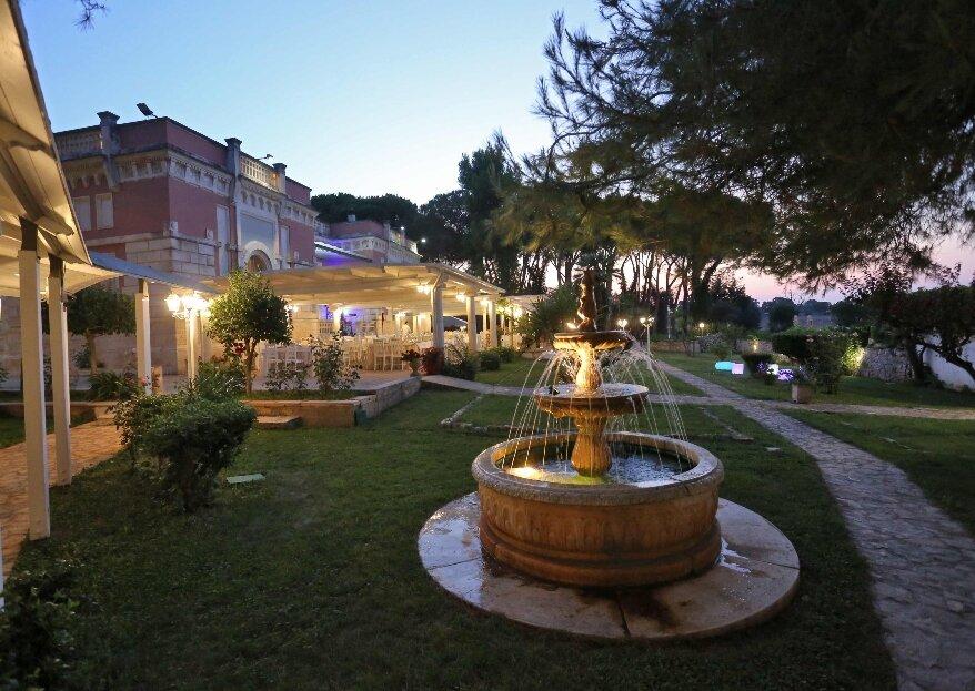 Villa Maria Ricevimenti vi apre le porte di una location da sogno per le vostre nozze!