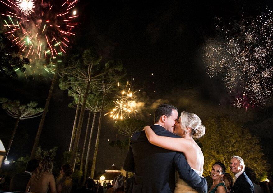 Espetáculos para casamentos: 6 ideias não convencionais para os convidados se divertirem!