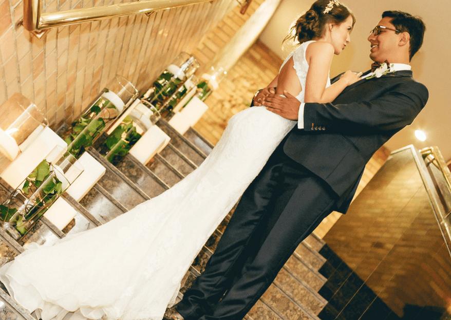 La boda de Mariana y Santiago: la combinación perfecta entre magia y amor