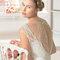 Hochzeits-Kleid: Brautkleid mit dünnem Gürtel
