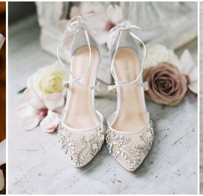MNII FêTe De Mariage Des Femmes Mariage Chaussures De