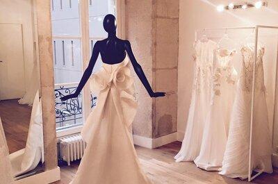 Un créateur, une histoire : pour une robe de mariée unique, qui ne ressemble qu'à vous