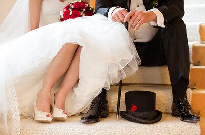Modern heiraten: Diese 5 Hochzeitsstile liegen 2015 im Trend