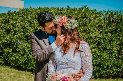 Cassie y Jaime: la boda del amor, el encuentro y la infinita felicidad