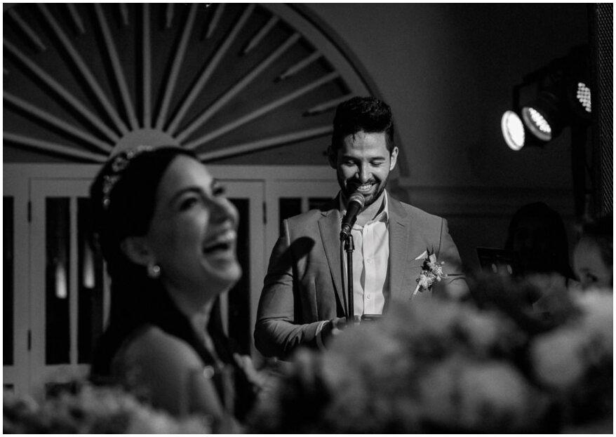 Cómo hacer el discurso de boda perfecto: ¡sigue estos 5 pasos!