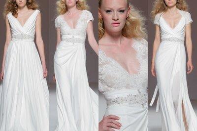 Die schönsten Brautkleider mit V-Ausschnitt für Ihre Hochzeit 2015!