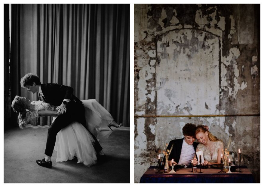 Styled Wedding Shoot: Laura's en Gideon's Industrial I do