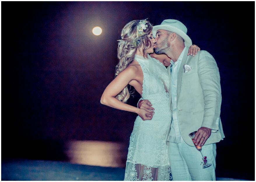 ¿Realizarás tu boda al aire libre? 5 tips para ganarle 'con creces' al clima
