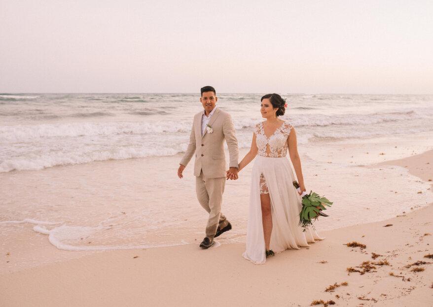 El estilo espontáneo de Doris Álvarez en la fotografía de bodas