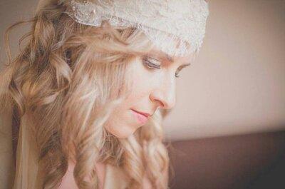4 consejos claves para elegir los complementos de tu peinado de novia. ¡Los expertos te aconsejan!