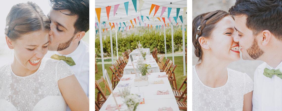Una gran fiesta de amor en pleno campo: la boda de Marta y Julen