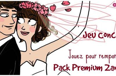 Jeu concours : Gagnez un Pack Premium Zankyou d'une valeur de 99 euros avec Mariages et Turbulettes