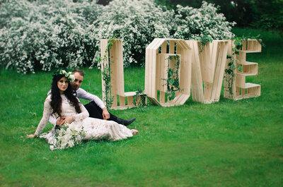 Jak wybrać literowe dekoracje na wesele? Mamy dla Was nowe trendy i porady specjalistów!