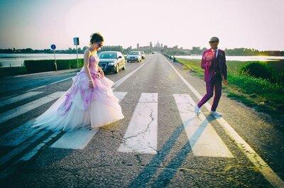 I 9 dettagli dell'abito da sposa che vi metteranno di buon umore