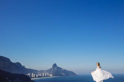 Casamento de Fabiola & Paulo: 60 dias foram suficientes para organizar uma festa PERFEITA!