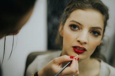 Lábios vermelhos para as noivas? As leitoras respondem!
