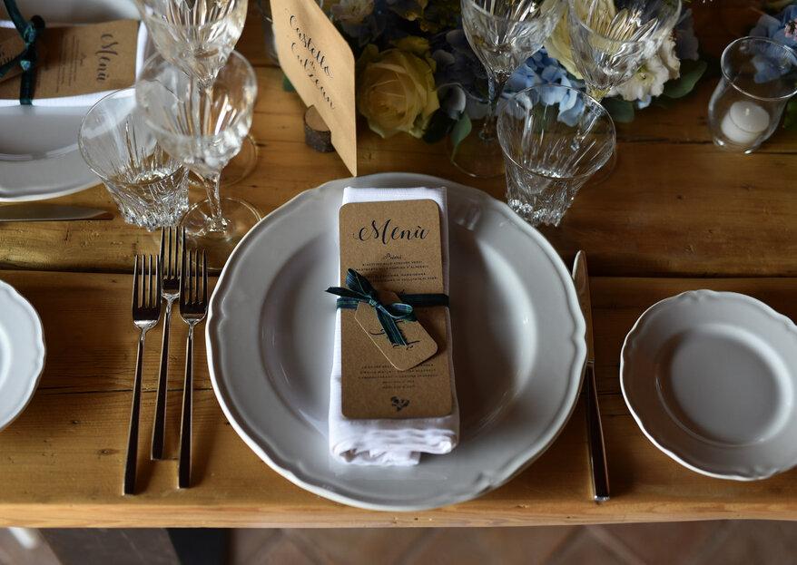 IuMi Wedding Boutique cura l'immagine coordinata del vostro matrimonio