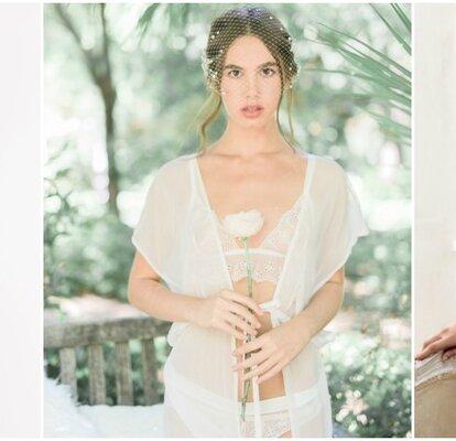 ddaae2ea77 Las mejores tendencias en lencería para novias  siéntete sexy el día de tu  boda