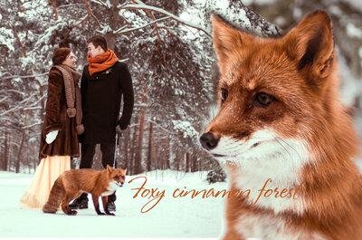 Рыжая зима: свадебная фотосессия Егора и Даши