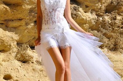 Les robes de mariée 2015 de Mariées de Provence : belles, sensuelles, originales et d'une grande élégance