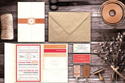 Las Mejores Invitaciones para boda: ¡Diseños 100% personalizados!